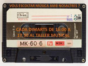 VOLS ESCOLTAR MUSICA AMB NOSALTRES